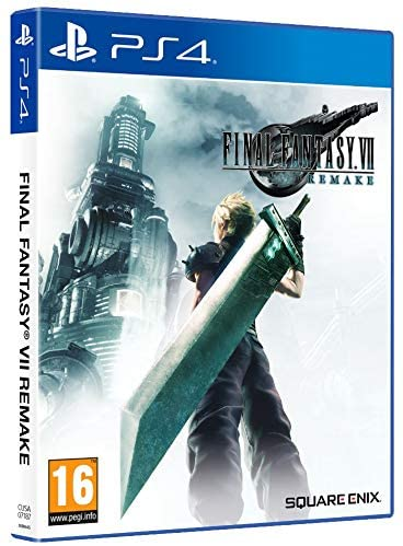 Final Fantasy VII Remake Portada